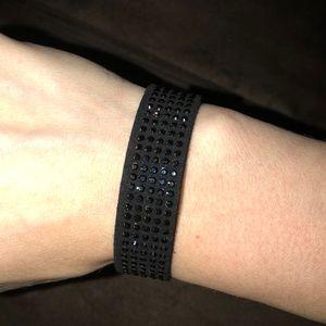 Swarovski Crystal Slake Jet Black Bracelet